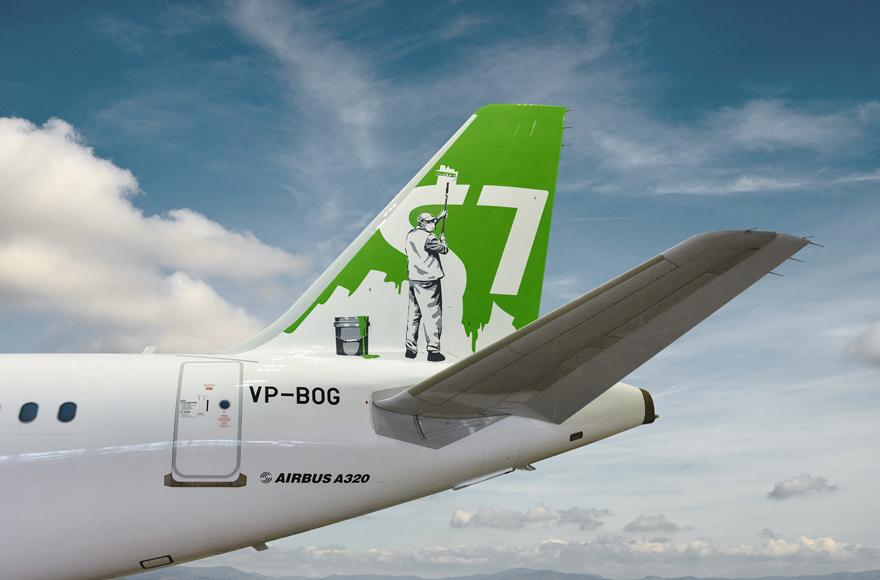Арт-ливрея S7 Airlines